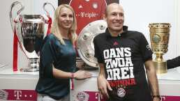 Arjen Robben sufrió muy de cerca el coronavirus
