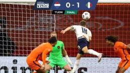 Italia vence de visita a Holanda y se afianza en la Nations League