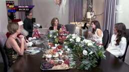 Montserrat Oliver abrió las puertas de su casa y celebró la Navidad entre amigas