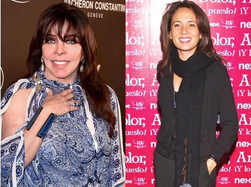 Verónica Castro confirma que Yolanda Andrade sí se casó, pero asegura que ella no fue la supuesta novia
