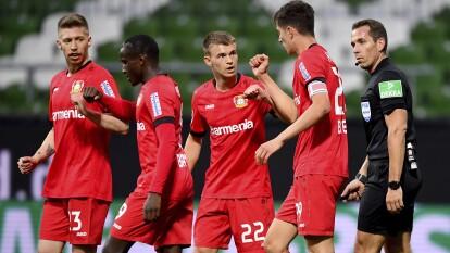 En el último cotejo de la Fecha 26 en la Bundesliga, el Bayer Leverkusen se plantó con autoridad en su visita ante Werder Bremen y los goleó 1-4.