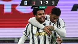 Juventus frena al Milan rumbo al título de Serie A