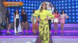 Moda de hoy: Naranja y verde neón son los colores ganadores para la colección Primavera-Verano