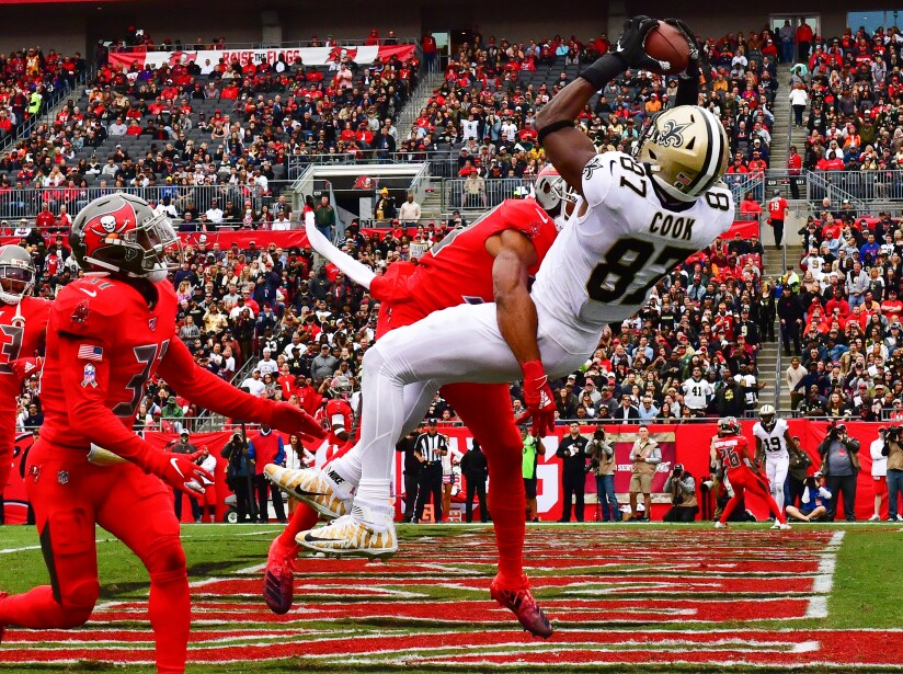 New Orleans Saints vTampa Bay Buccaneers