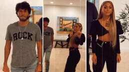 ¡Danna Paola y Sebastián Yatra ya no bailan solos!: Los cantantes tuvieron un inesperado reencuentro