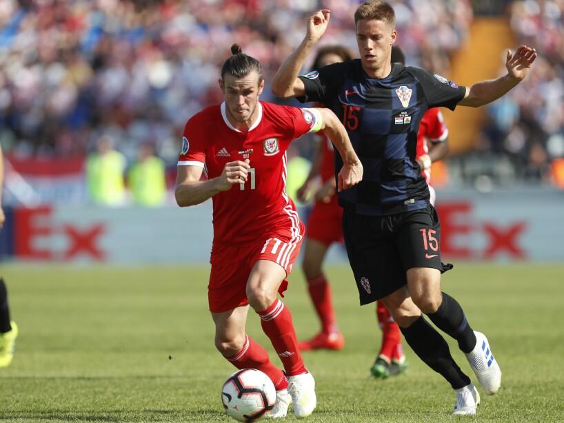 Gareth Bale de rojo