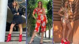 """""""Bienvenidos a mi clóset"""": Andrea Escalona muestra su lujosa colección de zapatos"""