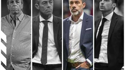 Entrenadores cesados en el Apertura 2019.