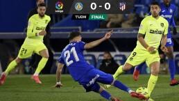 El Atlético dejó dos puntos empatando ante el Getafe