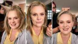 Erika Buenfil comparte el proceso de maquillaje para quedar como toda una reina
