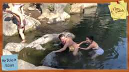 ¡Desnudo total de Octavio Mier en Como dice el dicho!