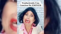 La Chupitos traduce una canción de Eminem