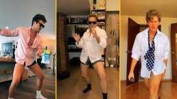 Diego Boneta, Alexis Ayala y otros famosos le entran al baile de Tom Cruise y alguien sufre una dolorosa caída