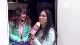 ENTREVISTA: Kayleigh nos dice por qué y cómo llora en El Dicho