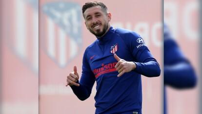 El Atlético de Madrid volvió a ejercitarse en la Ciudad Deportiva acatando las indicaciones sanitarias respectivas.   Renan Lodi aún no se incorporará al entrenamiento tras dar positivo al test de coronavirus.