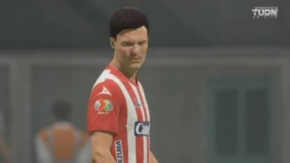 Antonio Portales, representando al Atlético San Luis, goleó 4-0 a Brayton Vázquez, manejando al Atlas, en la eLiga MX.