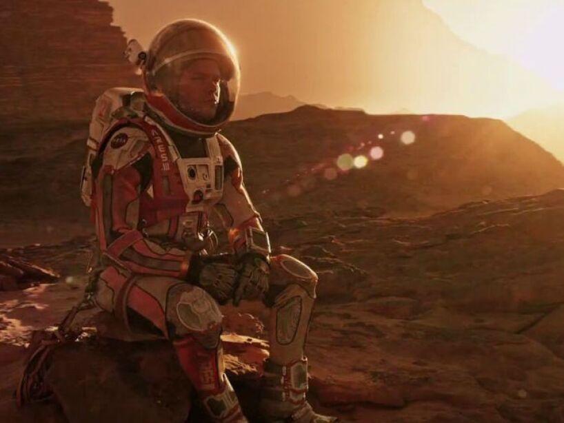 9. Mark Watney: Interpretado por Matt Damon, este experto en botánica nos emocionó en The Martian.