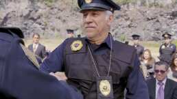 Abuelo entrena para ser policía
