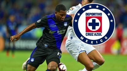 El ecuatoriano llegará a la Liga MX con la misión de resolver la falta de gol del Cruz Azul de Pedro Caixinha.