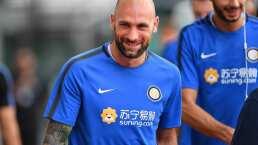 Portero, sin jugar, deja al Inter y se lleva dos rojas
