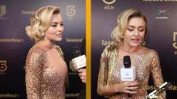 El antes y después del vestido de Angelique Boyer