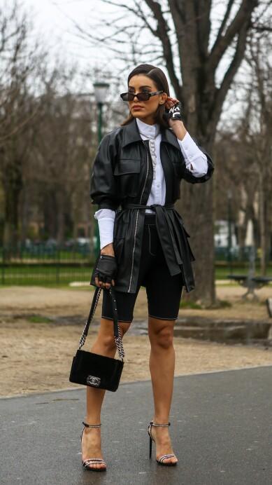 ¿Cómo usar los 'biker' shorts que están en tendencia?