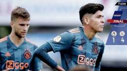 Ajax golea al Sparta con Edson Álvarez todo el partido