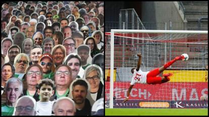 - A causa de la ausencia por parte de aficionados reales en los estadios por el COVID-19, el Borussia Mönchengladbach comenzó una iniciativa y sus fans, quienes aportaron imágenes de ellos en cartón para que los jugadores se sintieran acompañados.<br>- ¡Grandes goles en la pasada Fecha 27!</br>