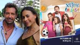 """VIDEO: Inician las grabaciones de la telenovela """"Soltero con hijas"""" en Acapulco"""
