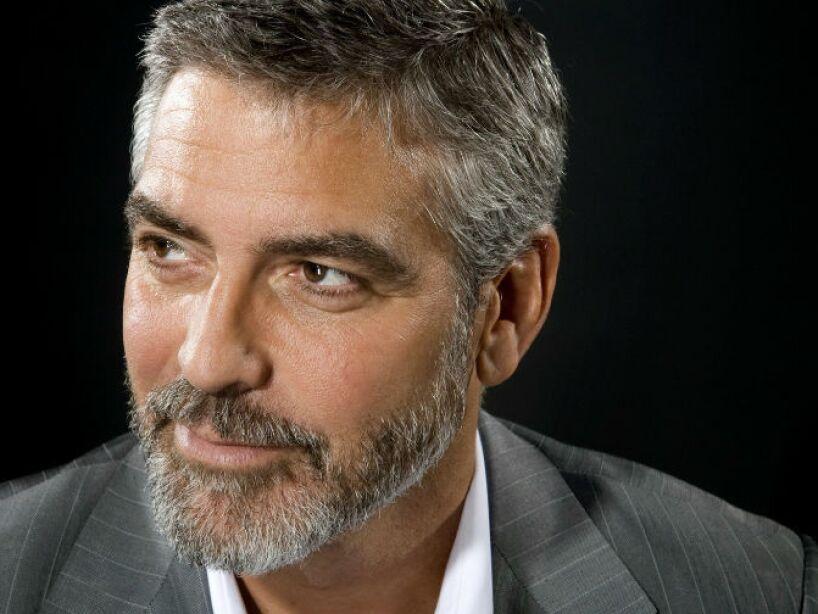 4. George Clooney. Fecha de nacimiento: 6 de mayo de 1961. Edad: 53.