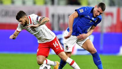 Italia y Polonia sin goles en la UEFA Nations League