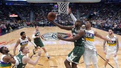 New Orleans Pelicans 108-120 Milwaukee Bucks