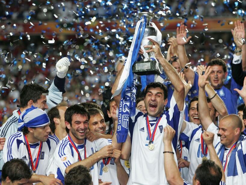 POR: Euro2004 Final: Portugal v Greece