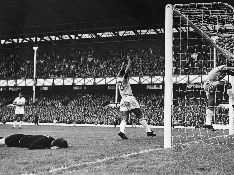 1966 World Cup Brazil vs Bulgaria