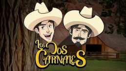 Así se ven Los Dos Carnales en caricatura para su video de 'Al Estilo Racherón'