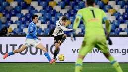 Napoli confirma lesión de 'Chucky' Lozano ante Juventus