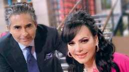 Raúl Araiza sonroja a Maribel Guardia al confesarle que le ha dedicado un 'ataque de amor'