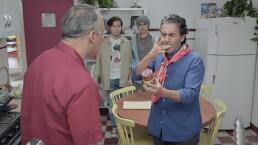"""""""Paco"""" vuelve locos a Ángel y a sus hijos"""