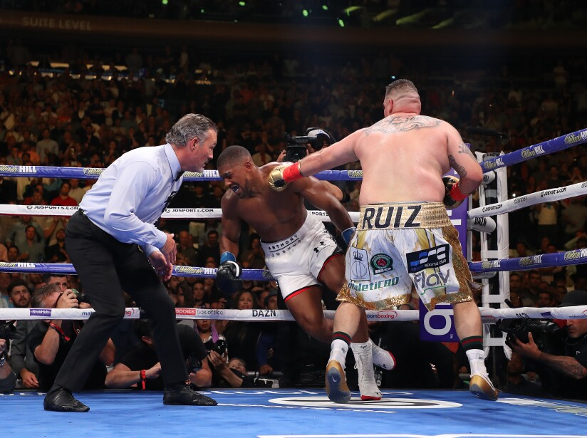 Anthony Joshua v Andy Ruiz Jr.