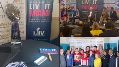 El Super Bowl LIV se llevará a cabo en Miami el 2 de febrero de 2020.
