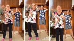 Erika Buenfil y su hijo Nicolás demuestran con divertido baile porqué el público los ama