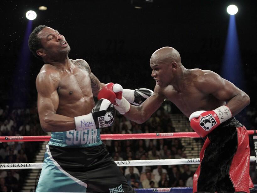 Mayweather Mosley Boxing