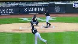 Tanaka se llevó duro pelotazo en la cabeza
