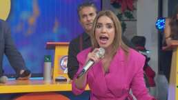"""Andrea Escalona imita a Ángela Aguilar y de pronto 'explota' en pleno programa de Hoy """"¿Entonces que chin.. quieres?"""""""