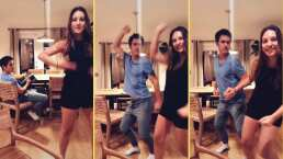 """Mauricio Ochmann se contagia por las ganas de bailar de su hija mayor en TikTok: """"Aquí siguiéndole los pasos"""""""