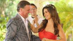 ¡Así se grabó la renovación de votos de Gaby y Juventino en 'Soltero con hijas'!