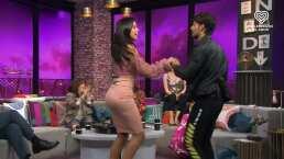 Paola Rojas y Emmanuel Palomares muestran sus mejores pasos de baile al ritmo de salsa