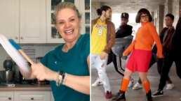 Erika Buenfil es tan buena contando chistes malos que te hará bailar de risa con el 'Scooby Do PaPa'