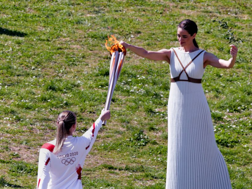 Lighting Ceremony Of The Olympic Flame