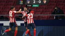 Ángel Correa y Saúl Ñiguez elevan más al Atlético de Madrid
